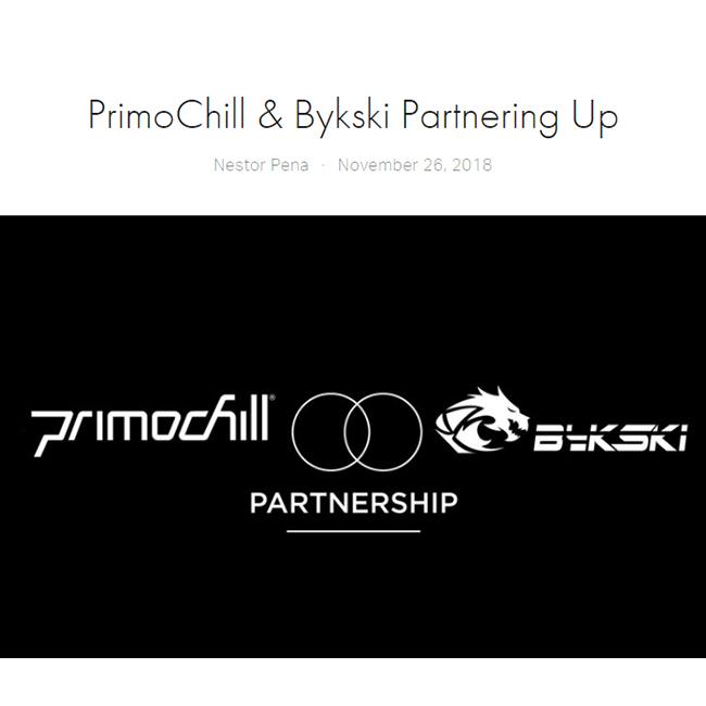 美国Primochill和Bykski达成战略合作